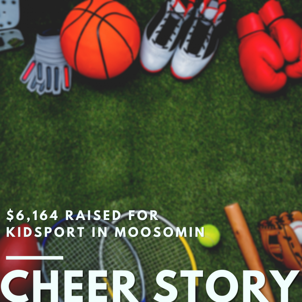 Cheer Story: $6,164 Raised for KidSport in Moosomin