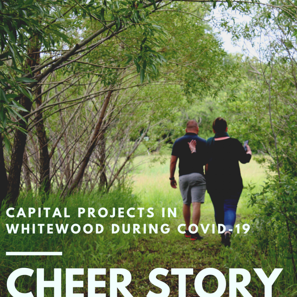 Cheer Story: Capital Projects In Whitewood During COVID-19