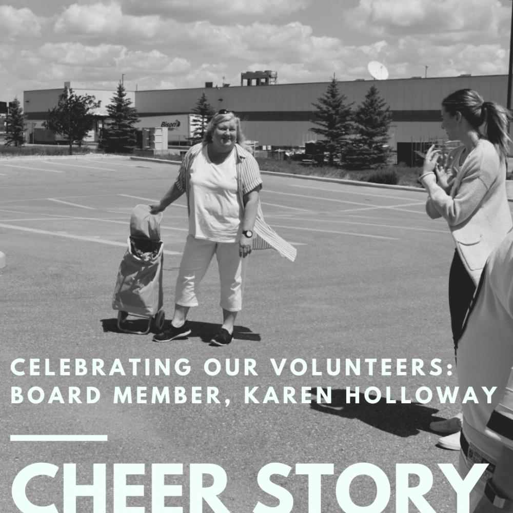 Cheer Story: Celebrating our Volunteers: Board Member, Karen Holloway