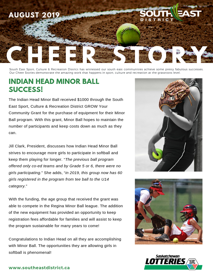 Cheer Story: Indian Head Minor Ball Success! - Image 1