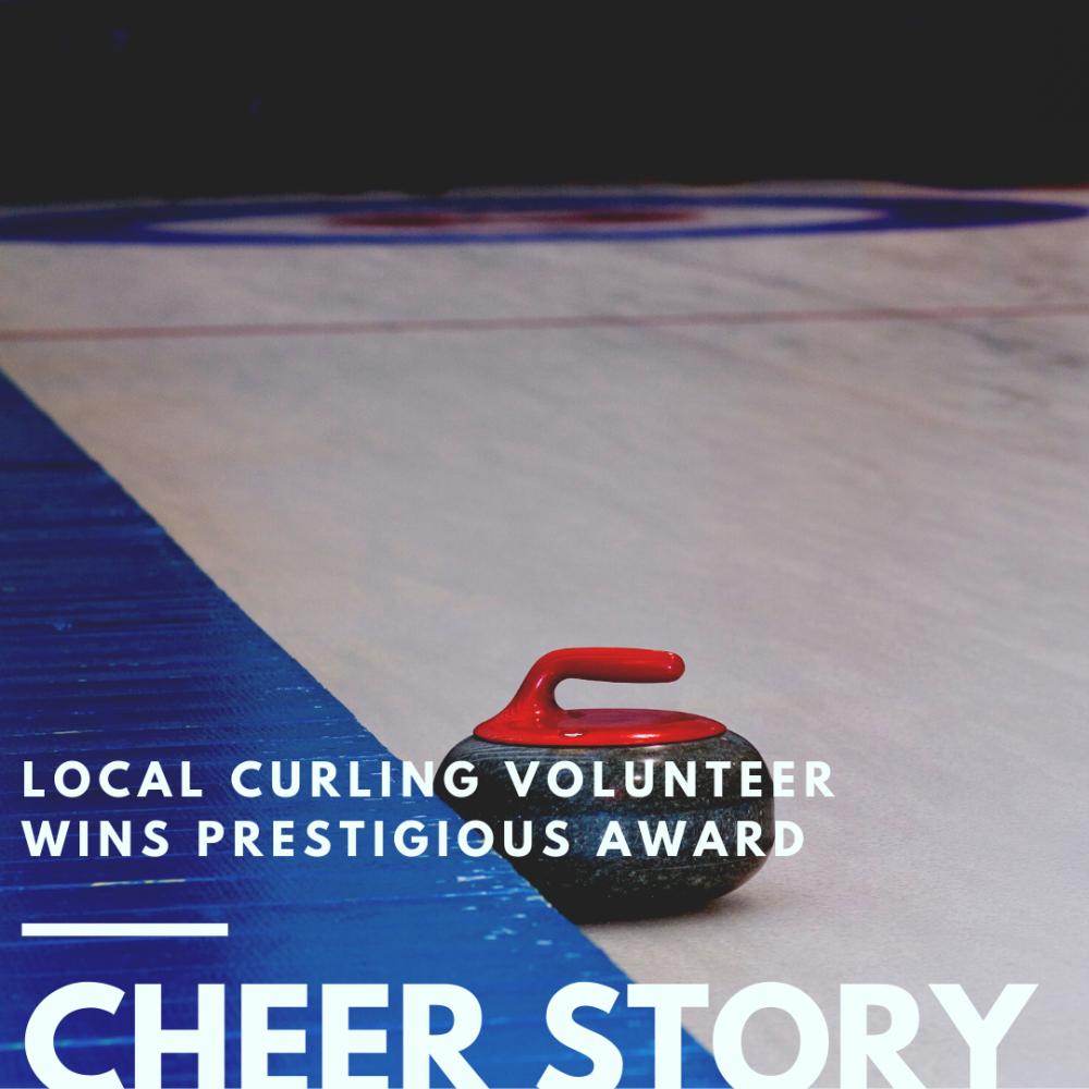 Cheer Story: Local Curling Volunteer Wins Prestigious Award