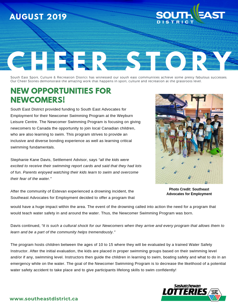 Cheer Story: New Opportunities For Newcomers! - Image 1