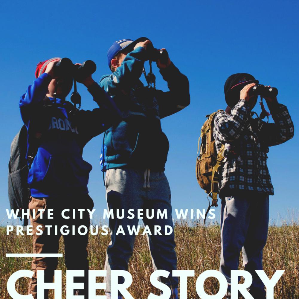 Cheer Story: White City MuseumWins Prestigious Award