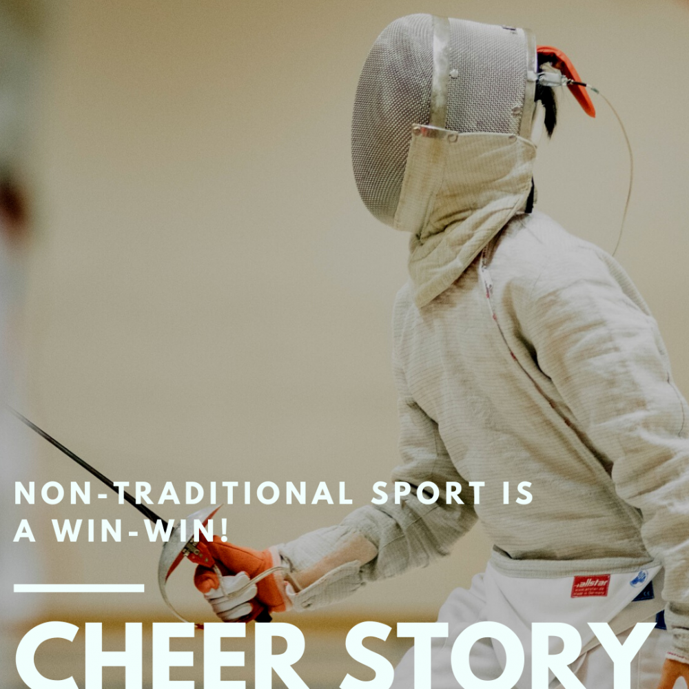 Cheer Story: Non-traditional Sport is a Win-Win!