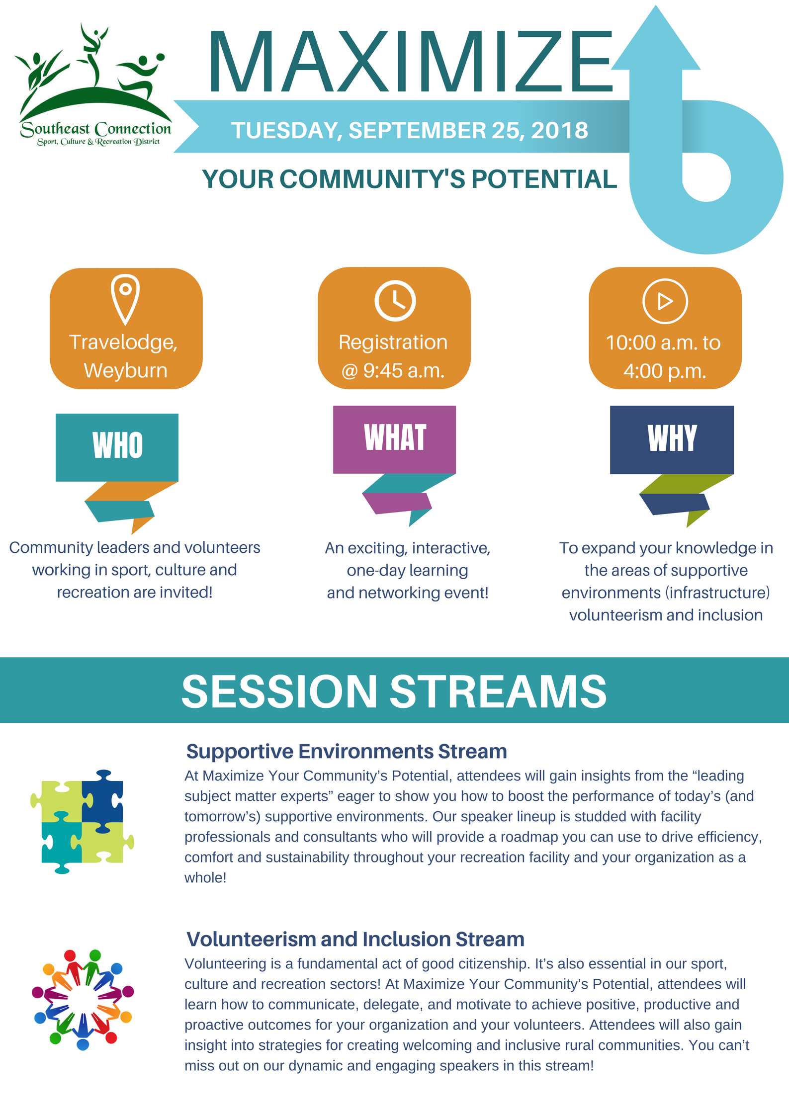 MAXIMIZE Your Community's Potential! - Image 1