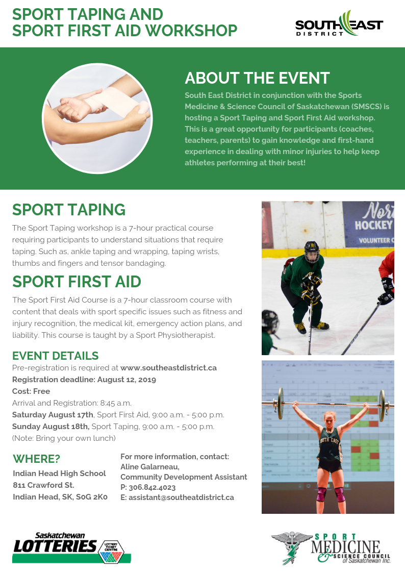 Sport Taping and Sport First Aid - Image 1