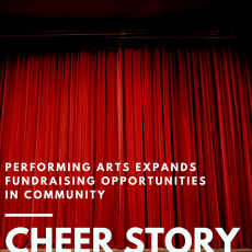 Cheer Story: Performing Arts Expands Fundraising Opportunities in Community