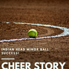 Cheer Story: Indian Head Minor Ball Success!