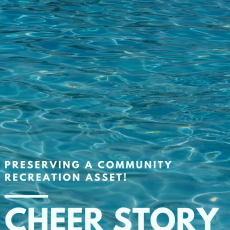 Cheer Story: Preserving a Community Recreation Asset!